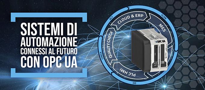Sistemi di Automazione connessi al futuro con OPC UA