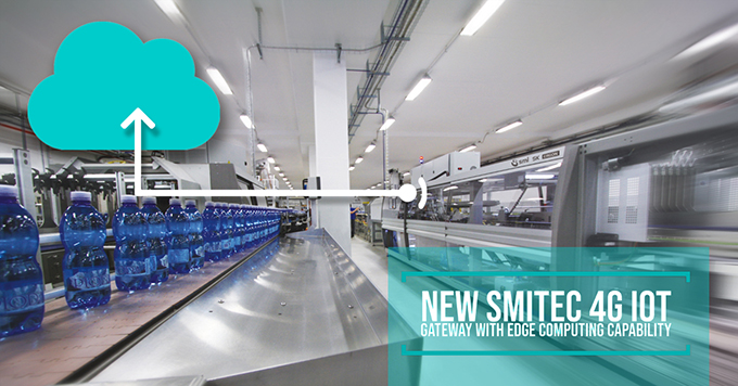 The new Smitec 4G IoT Gateway with edge computing capacity